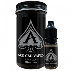 Ace Vape CBD - Black Jacks 500mg